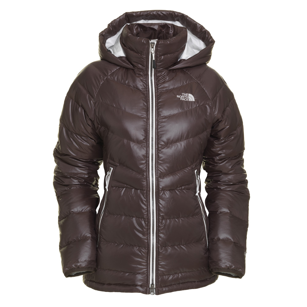 the north face polar down parka daunen mantel damen wintermantel braun gr m ebay. Black Bedroom Furniture Sets. Home Design Ideas